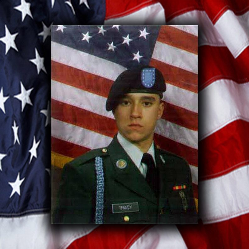 Army Pfc. Jacob T. Tracy