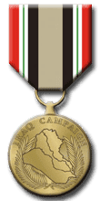 Operation Iraqi Freedom Service Medal