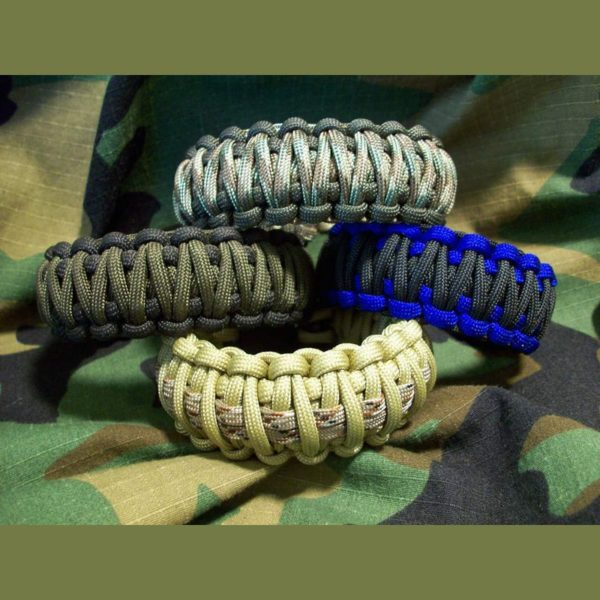 King Cobra Paracord Survival Bracelets