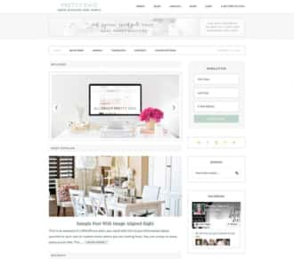 Pretty Chic Premium WordPress Theme