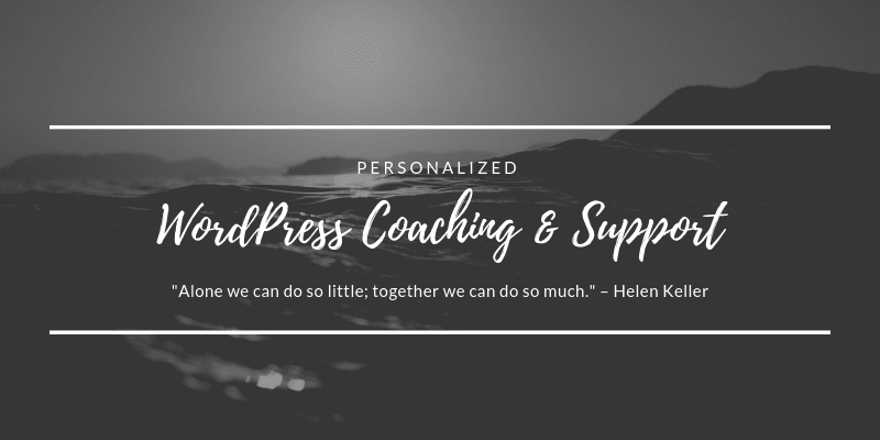 WordPress Consulting Services and Support