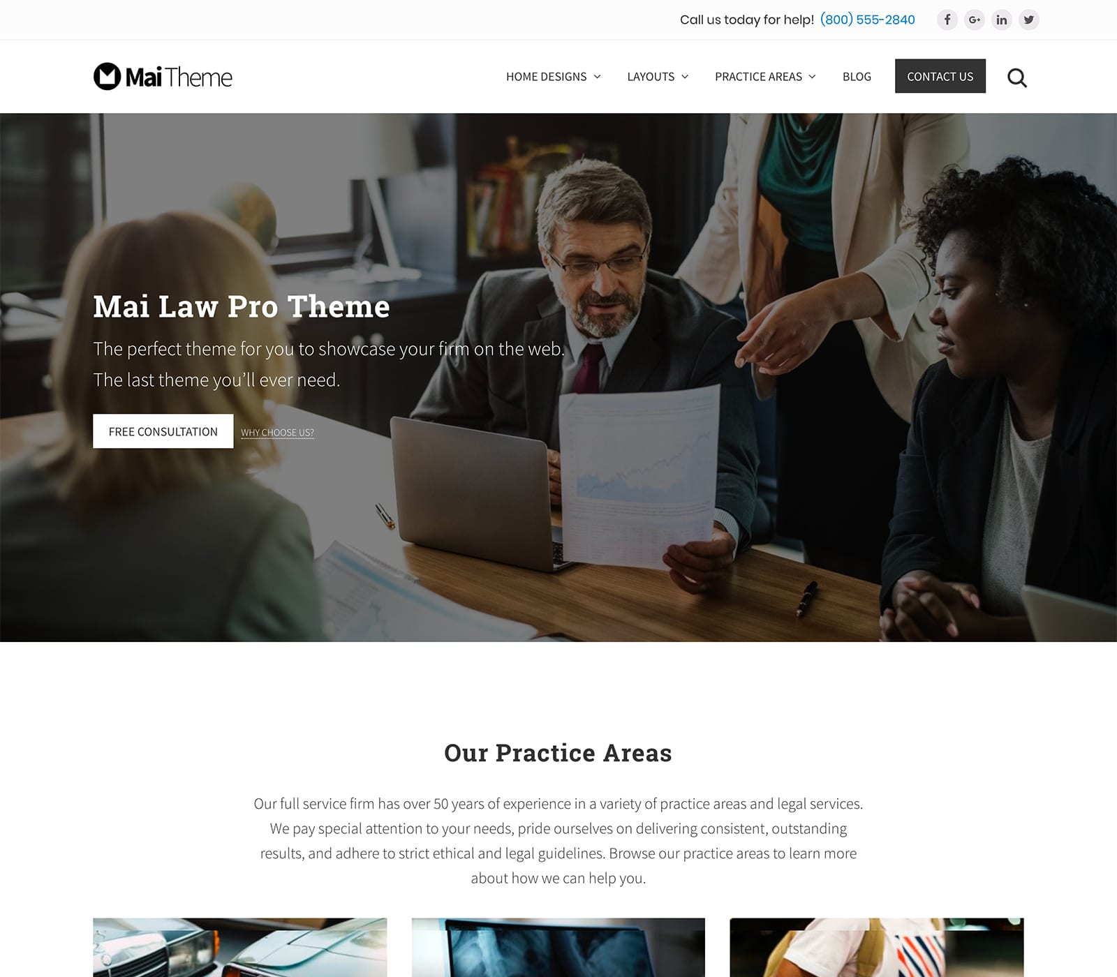 Mai Law Pro Law Firm Premium WordPress Theme