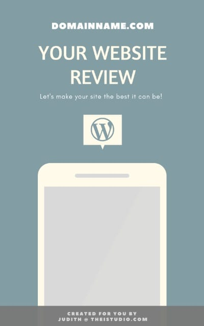 Order Your WordPress Site Review
