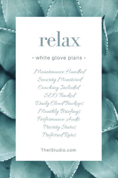 White Glove WordPress Support Plans