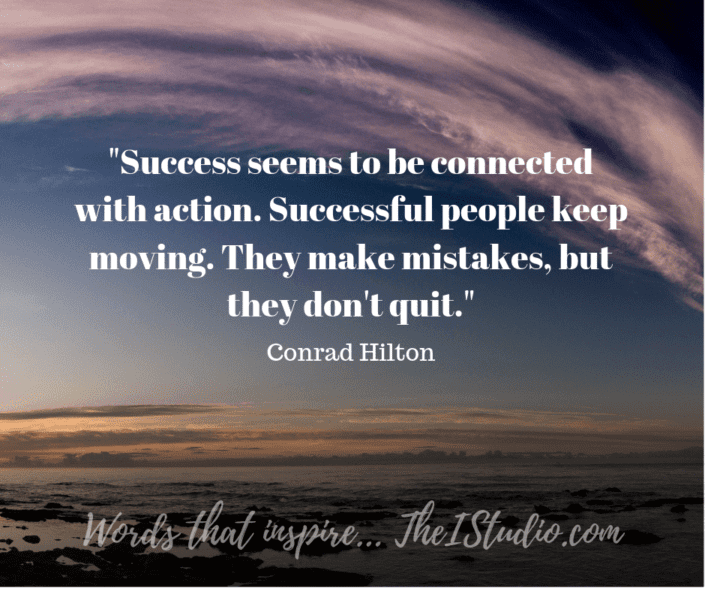 Online Success and Action