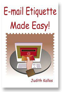 Email Etiquette Made Easy Paperback Book