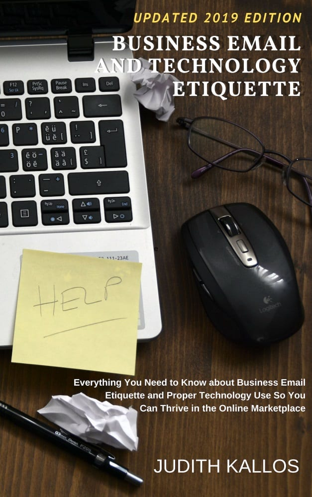 Business Email and Technology Etiquette eBook: 2019 EDITION
